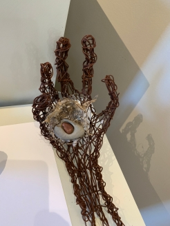 """Wire Hand & Found Objects,"" by Storrs Bishop. https://wheatgrassaloon.files.wordpress.com/2019/09/haaland.pdf"